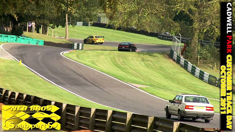 Neo Brothers - The OFFICIAL Cadwell Park Saab Trackday Video 1st Oct 2011