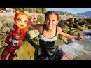 MonsterHigh kurtarma ekibi sezon kapanışı kutluyorlar! Denizde parti yapıyoruz! kızoyuncakları