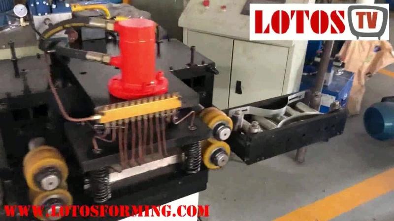 High speed PU door shutter roll forming machine