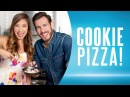 Cookie Pizza (Healthy Dessert Recipe) ft. Kenny Florian Blogilates