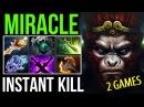 Miracle- Monkey King Boss Mode - Divine Rapier Holyfxxk Damage Dota2