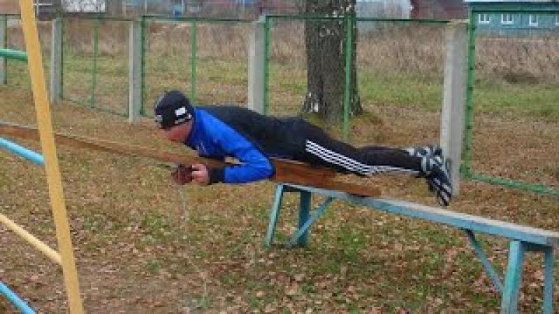 Тренировки лыжников Кесова Гора