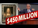 Leonardo da Vinci's Christ SOLD $450 MILLION the'Salvator Mundi' at Auction