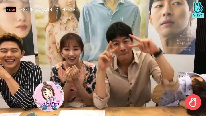 [180529] Прямая трансляция V-Live к tvN Дораме