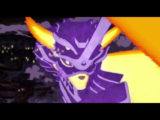 AMV - Naruto y Sasuke vs Momoshiki - Painkiller - 1080p/[full Fight]