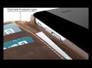 BLUMAX iPhone Leder Tasche/Case/Wallet/Geldbörse aus echtem Leder mit Standfunktion super Design