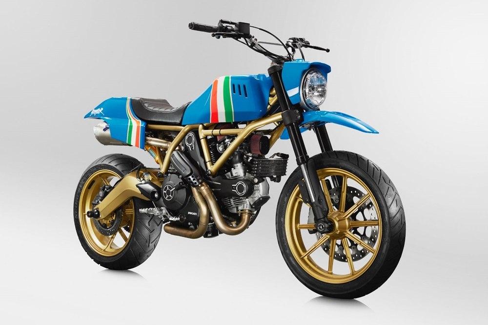 Кастом Ducati Scrambler Maverick
