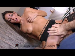 На кастинге у Вудмана Clea Gaultier - Hard - My first DP  3 men 1080p HD #porno hardcore #sex #anal Woodman casting