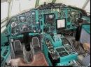 Avia Вывод Ту 154М из плоского штопора на симуляторе