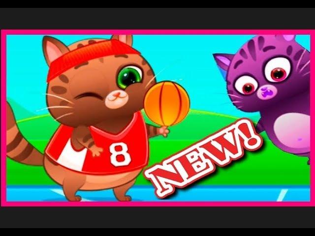 Котик Бубу 2018 новые серии мультик игра 5 серия Играем в Футбол, Баскетбол / Kotik Bubu 2018 new
