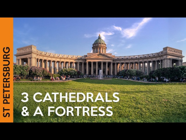 Kazan Cathedral, Peter and Paul Fortress St Isaac's Cathedral | ST PETERSBURG, Russia (Vlog 4)
