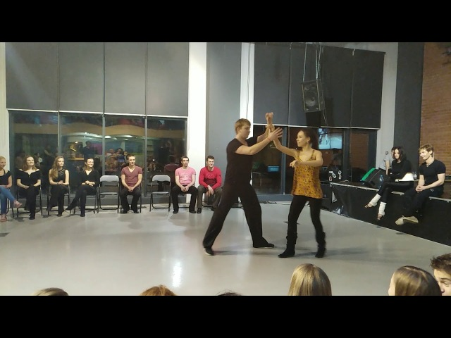 Хастл. Invitational. Rock'n'Dance Fest-2018 Михайлов Сергей - Дараева Наталья (fast)
