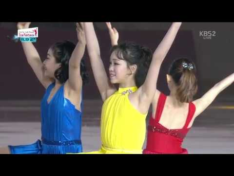 Ex.Gala 02. Min-Jeon KWAK Ice Girls (KOR) LaLa Land (Mix) OST | 2018-04-21 LG Ice Fantasia Show