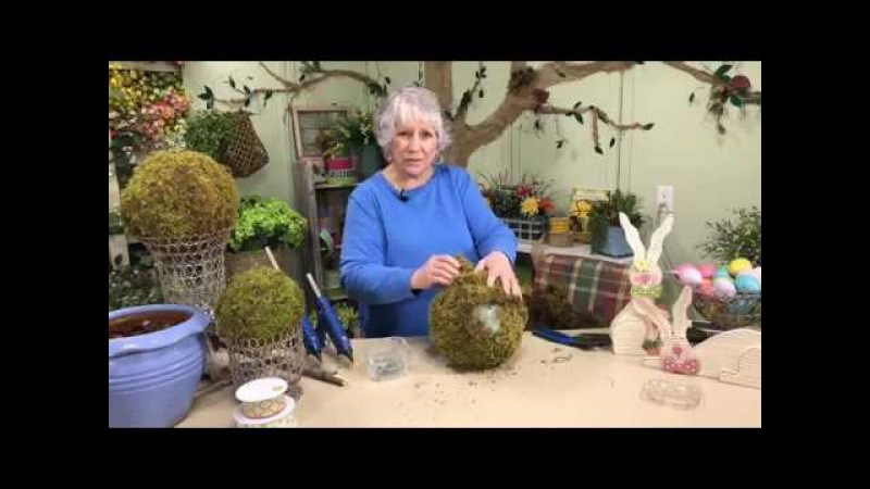 Learn To Make a Topiary With Nancy