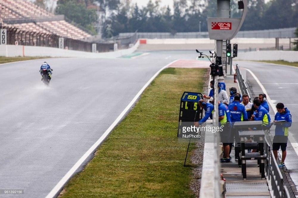 Результаты первого дня тестов MotoGP 2018 на трассе Каталунья