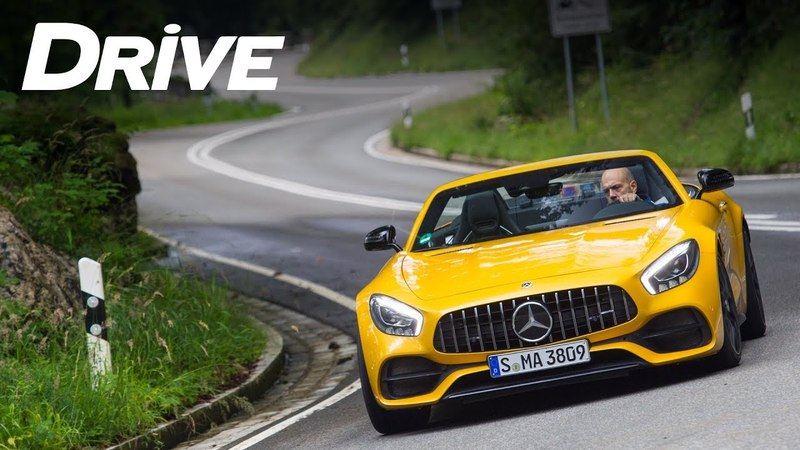 Mercedes-AMG GT C Roadster by DRIVE Magazine [English subs]