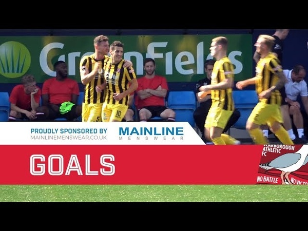 Hyde United 2-3 Scarborough Athletic - 01/09/2018