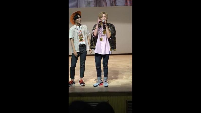 FANCAM | 17.06.18 | Jun, Wow @ 4th fansign Incheon Media Center