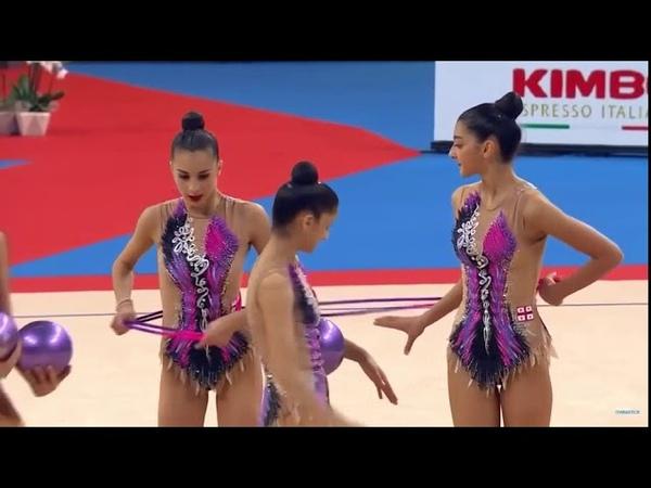 Copie de GEORGIA 3 BALLS 2 ROPES GROUP A QUALIFICATION WORLD CHAMPIONSHIPS SOFIA 2018