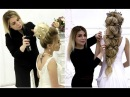 She Creates FABULOUS BRIDAL Hairstyles!