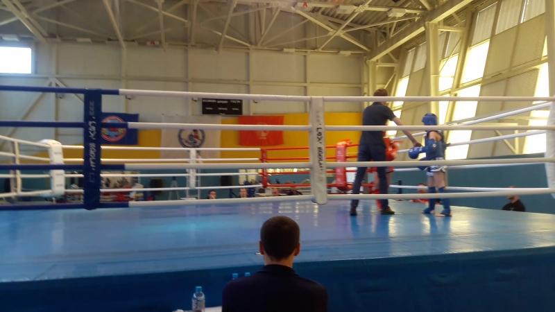 Белобородов Даниил (Академия Муай Тай) 1 и 2 раунд (полуфинал)