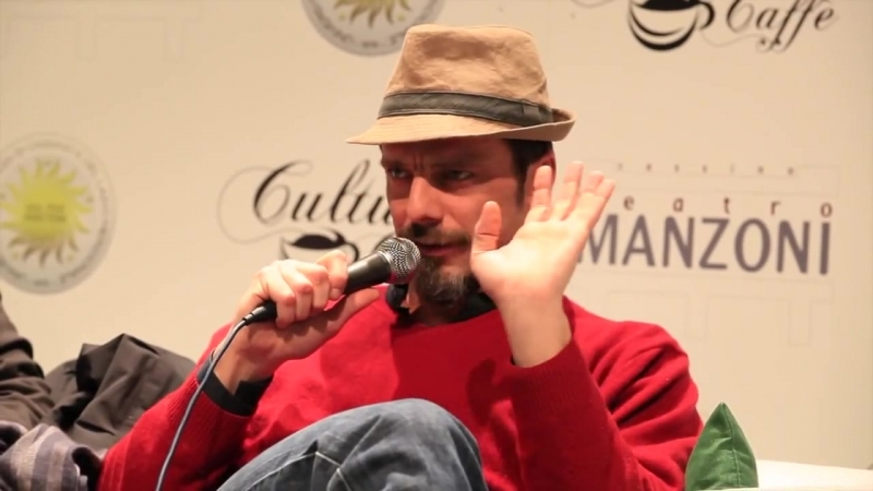 Alessandro Preziosi presso il Teatro Manzoni di Cassino spiega limportanza dell