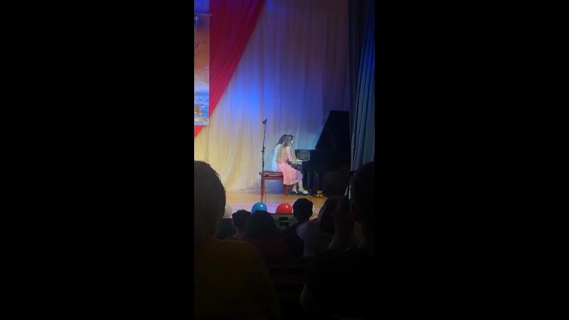 вальс из к/ф «мой ласковый и нежный зверь» фортепианный ансамбль Логинова Дарья, Петракова Наталья