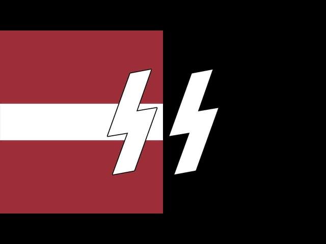 Latvian SS song Zem mūsu kājām SS marschiert in Feindesland