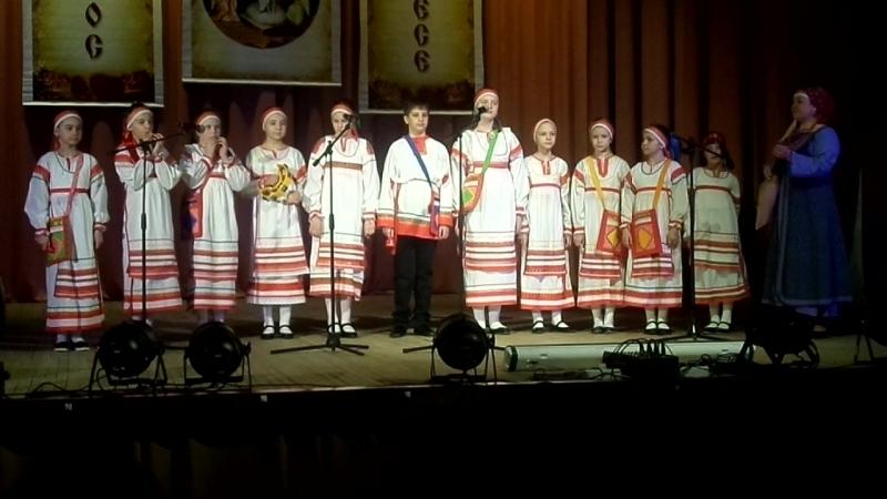 13 04 2018г Боровск районый фестиваль ПАСХА КРАСНАЯ дод центр творческого развития фольклорный ансамбль тынды рынды худ рук