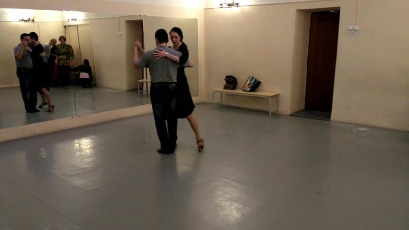 Урок 05.02.18: канженге и танго-вальс