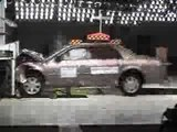 Crash test of 2007 Cadillac DTS 4-DR wSAB