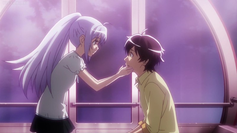 Plastic Memories Isla's Final Goodbye プラメモ 1080p Kiss Scene