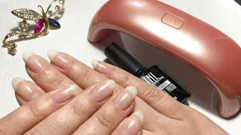 Выравнивание ногтевой пластины базой♥Мои идеальные блики