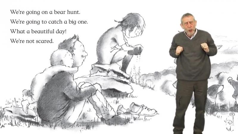 Michael Rosen - We're Going on a Bear Hunt (Майкл Розен