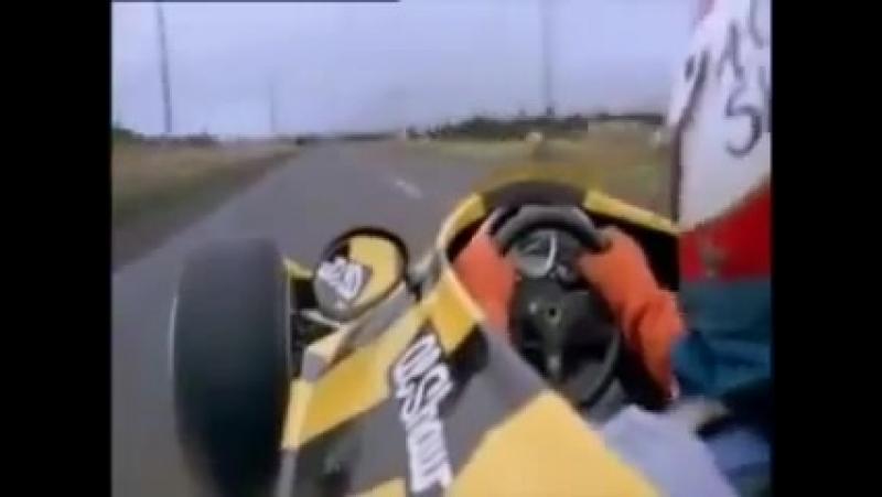 Racecar on the road F1 vs COP