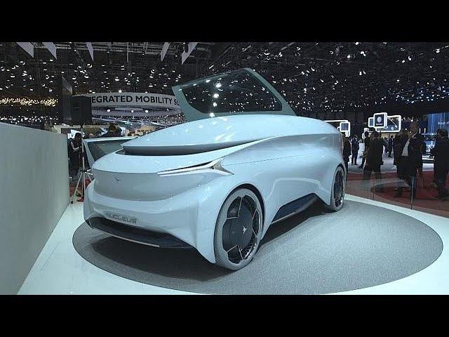 Автосалон в Женеве: кругом электричество - focus