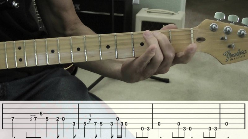 House of The Rising Sun - Guitar Solo w/Tabs