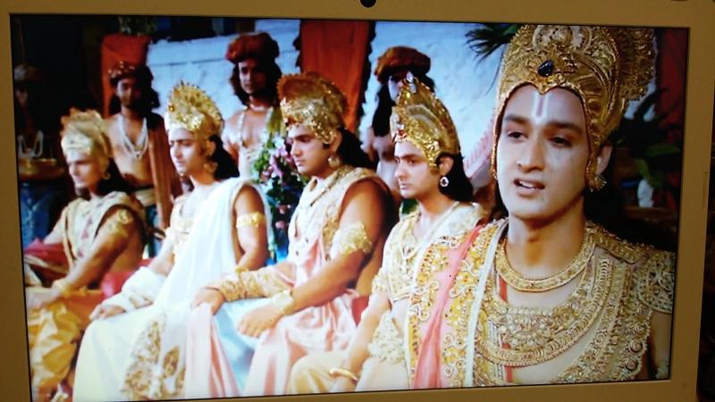 О поклонении Богу, о страхе, о честности, о дхарме.... Махабхарата 2013