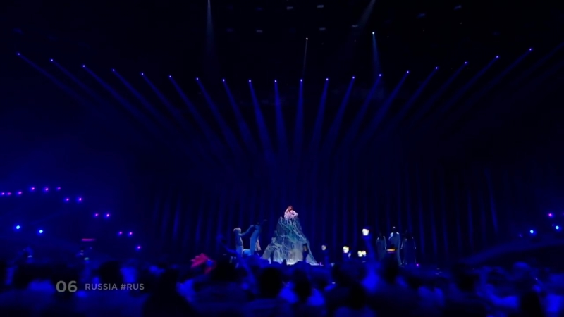 Julia Samoylova - I Won't Break - Russia - LIVE - Second Semi-Final - Eurovision 2018. Болты Евровиденья