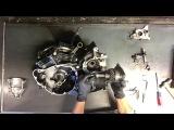 34 Suzuki Intruder VL 1500 Engine Motor Tear Down Case Split VL1500 Disassemble Rebuild V Twin
