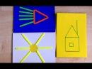 Развивающие занятия для детей 2 - 3 лет со счетными палочками. Обучающие игры.