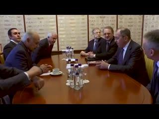 Встреча С.В.Лаврова с Генеральным секретарем Лиги арабских государств (ЛАГ) А.Абуль-Гейтом