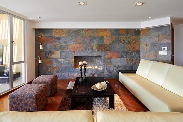 Отделка интерьера натуральным камнем- это очень красиво и натурально! Компания FLAD STONE представляет огромный ассортимент пород камня, текстур и цветовых решений.Натуральный каменный шпон от