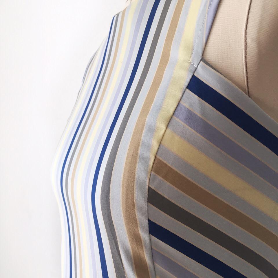 Просто, лаконично и стильно  Сарафан из итальянского хлопка для нашей элегантной клиентки Леночки 🧚️