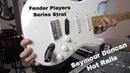Fender Players Series Strat Seymour Duncan Pickup Hotrails Pickup Swap