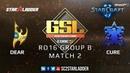 2019 GSL Season 1 Ro16 Group B Match 2: Dear (P) vs Cure (T)