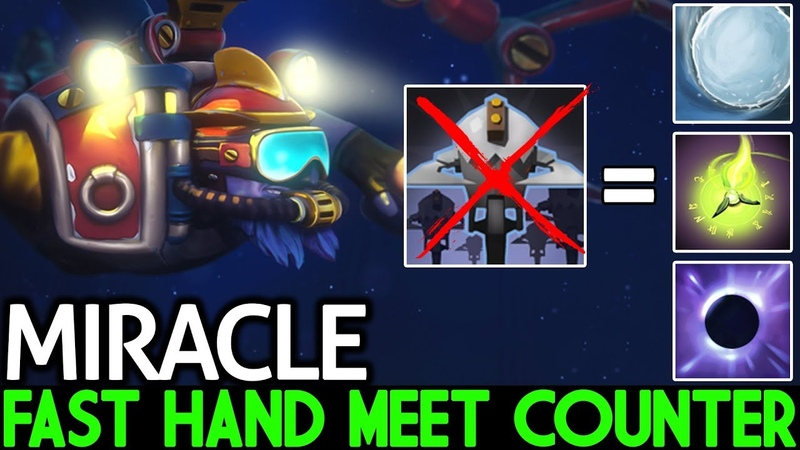 Miracle- [Tinker] Pro Player Fast Hand Meet Hard Counter 7.20 Dota 2