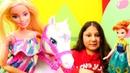 Barbie Kızın atını Karlar Ülkesi Anna buluyor