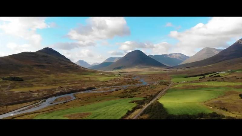 Исландия с высоты 2018