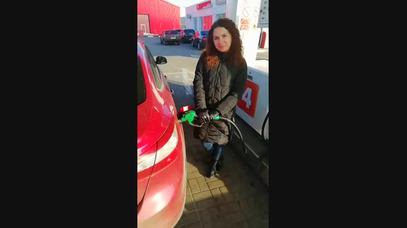 В Центре У Виталия на Пост Кривце разыграли 30 литров топлива